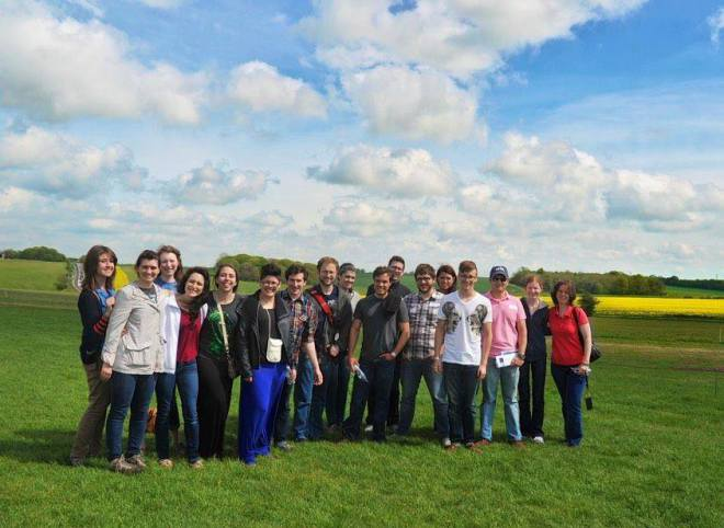 Patrick Henry College England literature trip