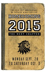 Patrick Henry College 2015 Homecoming