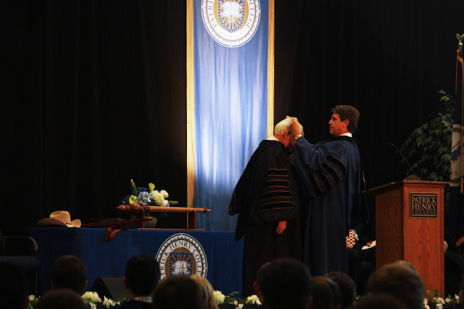 Investiture of Jack Haye as Patrick Henry College President
