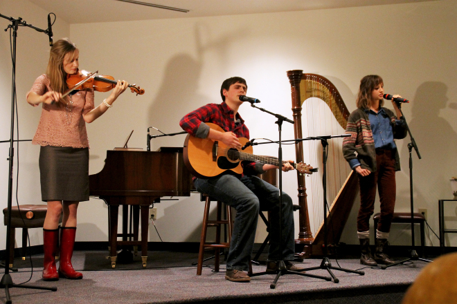 Patrick Henry College 2015 Homecoming coffeehouse concert