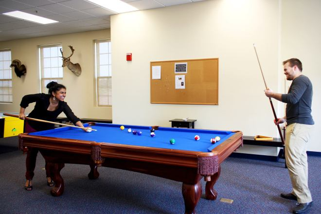 Patrick Henry College Student Lounge