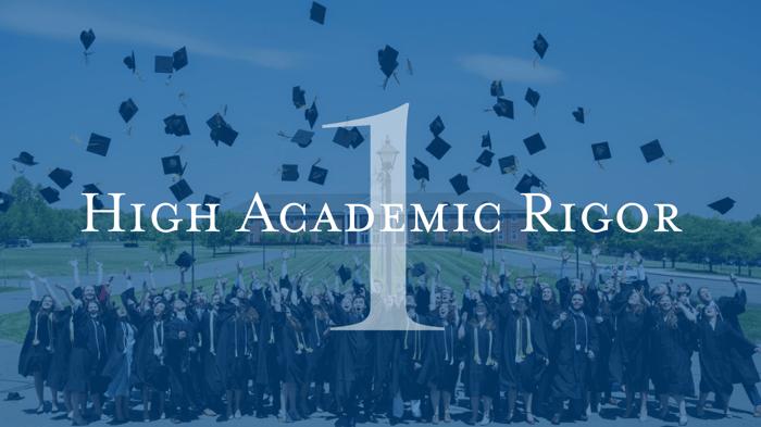 High Academic Rigor Patrick Henry College