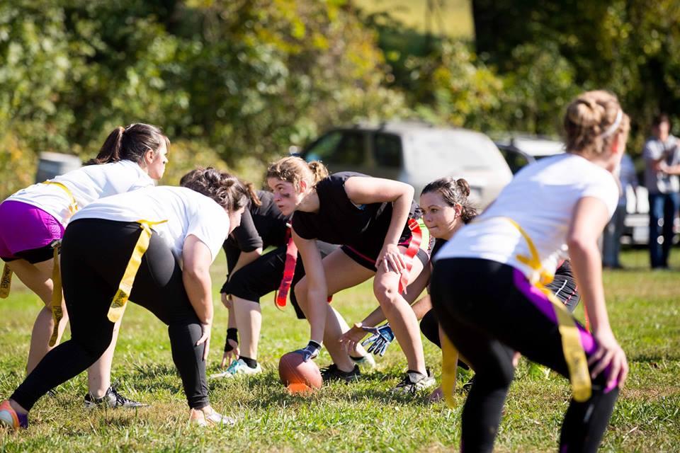 Patrick Henry College powderpuff football game
