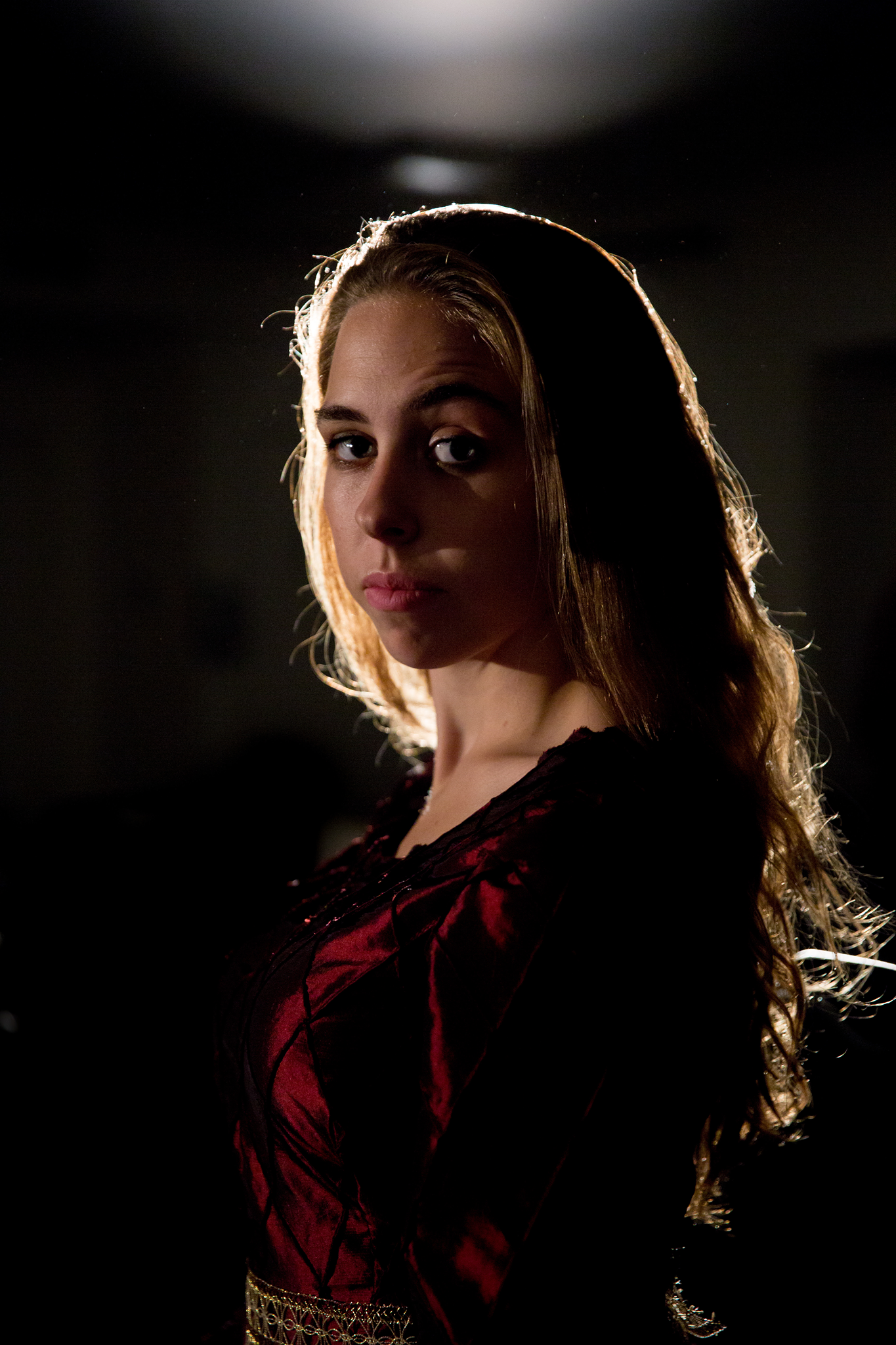 Caitlin Coulter as Lady Macbeth in Eden Troupe's Macbeth