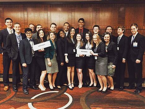 Patrick Henry College (PHC) National Model United Nations (NMUN) delegation