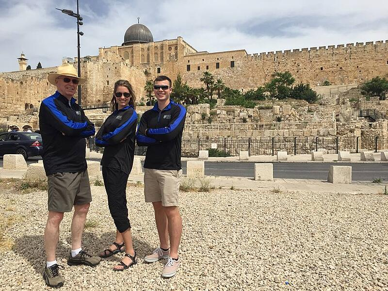 Patrick Henry College Strategic Intelligence major Middle East trip