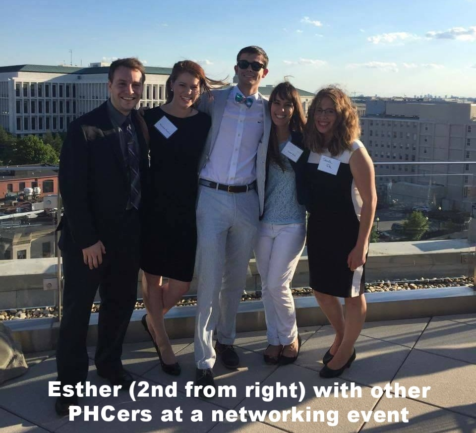 Esther met up with other PHCers while in D.C.