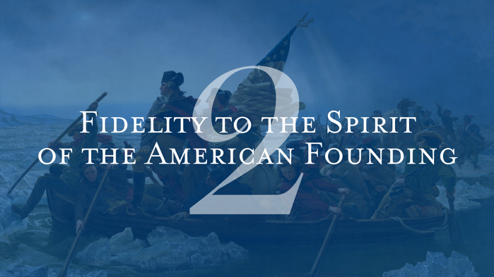 Fidelity to the Spirit of the American Founding Patrick Henry College