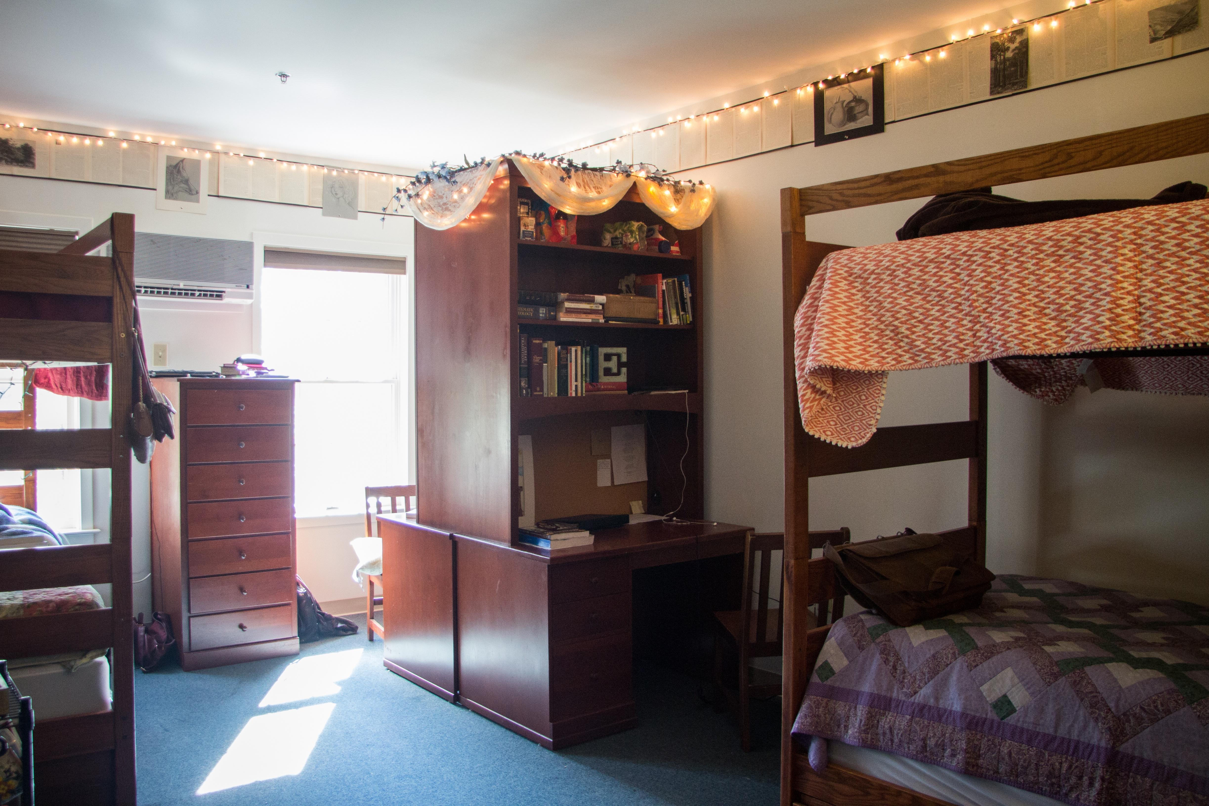 Patrick Henry College dorm room
