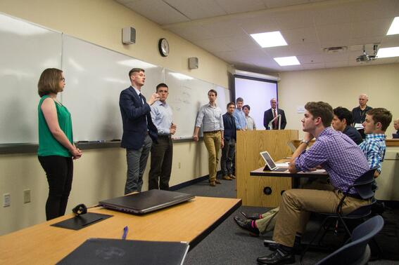 Patrick Henry College (PHC) Strategic Intelligence (SI) alumni speak to current PHC students