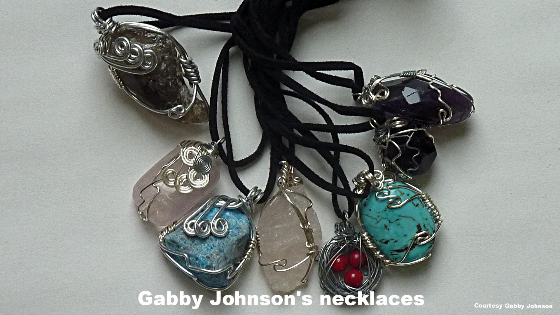 Gabby Johnson's jewelry