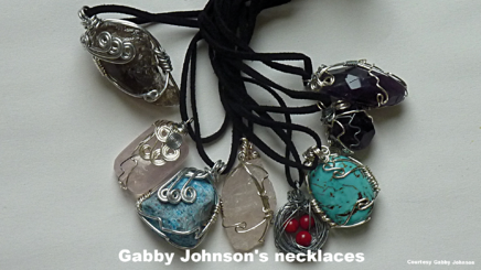 Gabby Johnson's jewelry