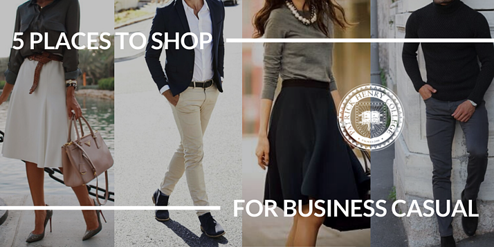 5 PLACES TO SHOP FOR BUSINESS CASUAL