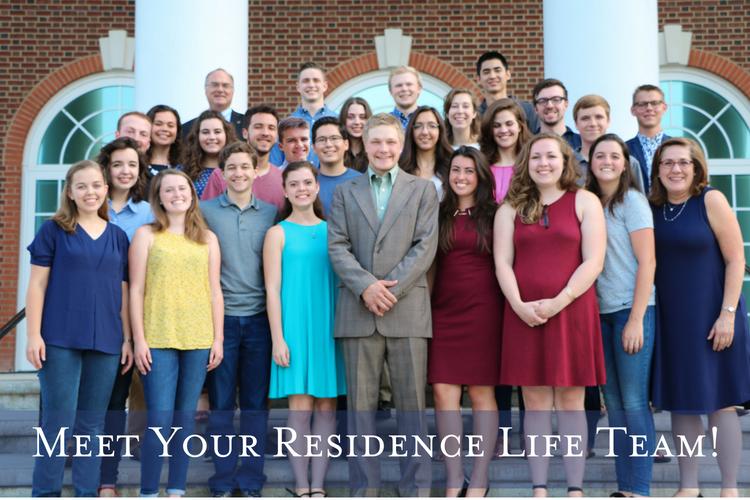 Residence Life Team Patrick Henry College