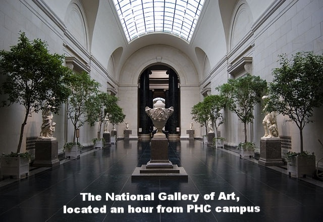 The National Gallery of Art in D.C.