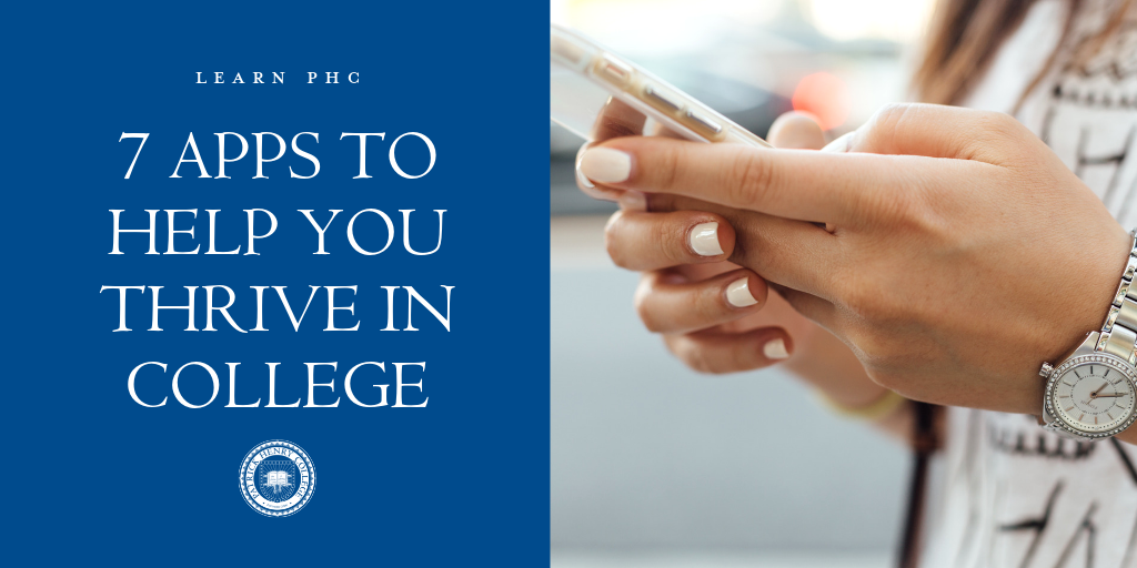 7 Apps to Help You Thrive in College