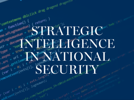 Strategic Intelligence in National Security