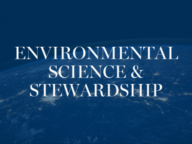Environmental Science & Stewardship | Patrick Henry College