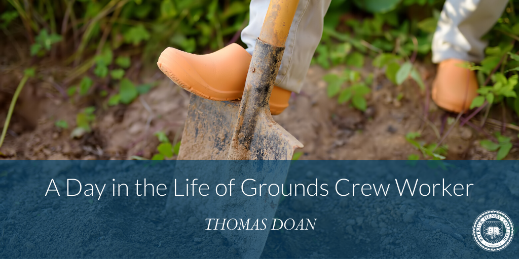 A Day in the Life of a Grounds Crew Worker
