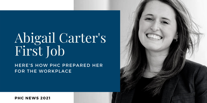 Abi Carter's First Job