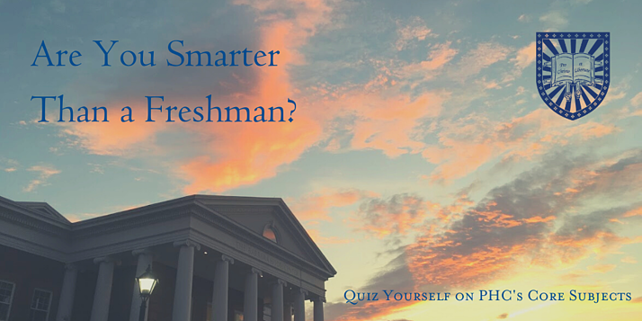 Are You Smarter Than a Freshman_