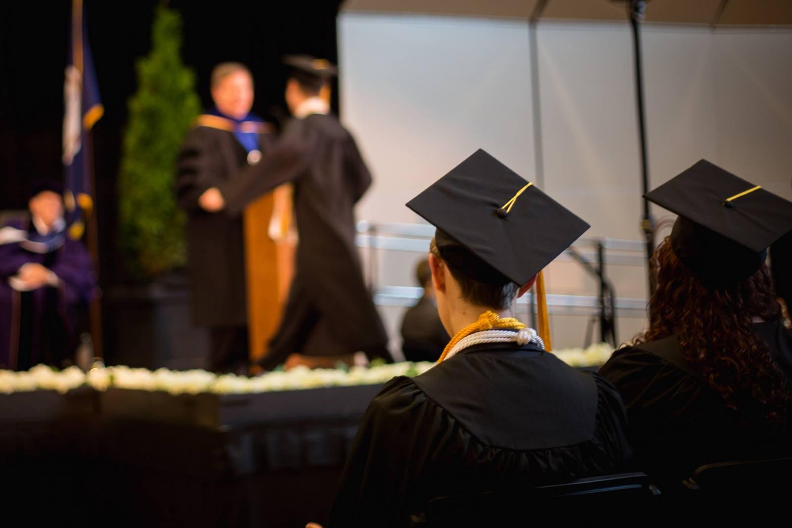 Patrick Henry College graduation ceremony