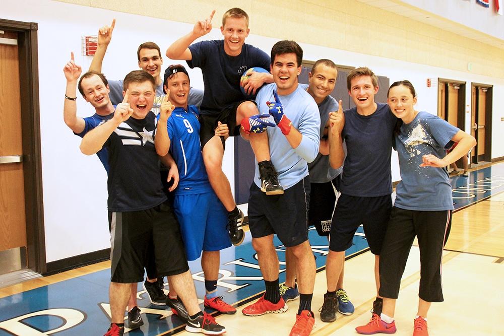 Homecoming 2015, Student Life, Dodgeball Team, Class of 2018, Winners, 1.jpg