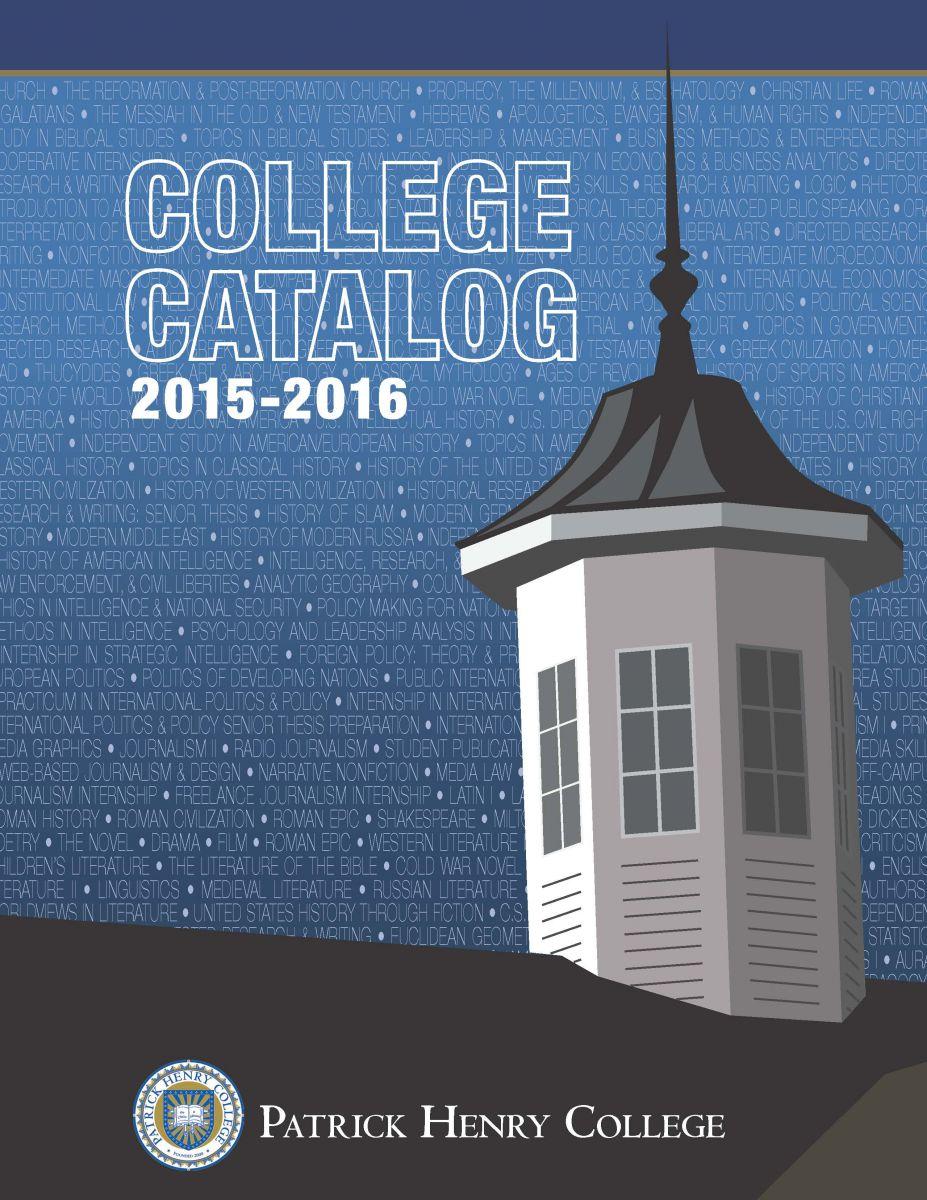 2015-2016 Catalog Cover