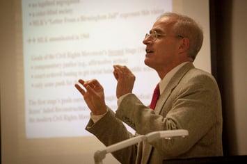 Robert Spinney, classroom, history, 2