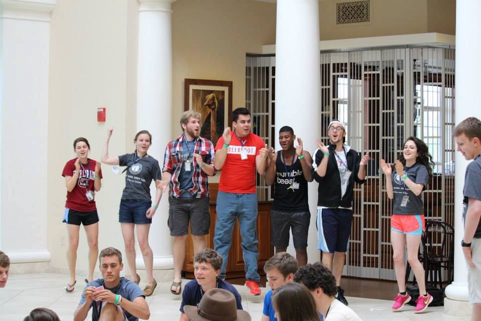 Patrick Henry College Teen Leadership Camp counselors