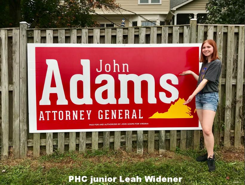 PHC junior Leah Widener