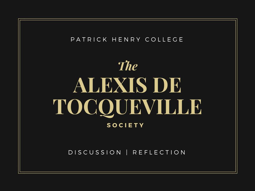 Alexis de Tocqueville Society