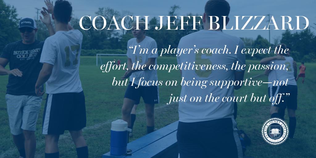 Coach Jeff Blizzard