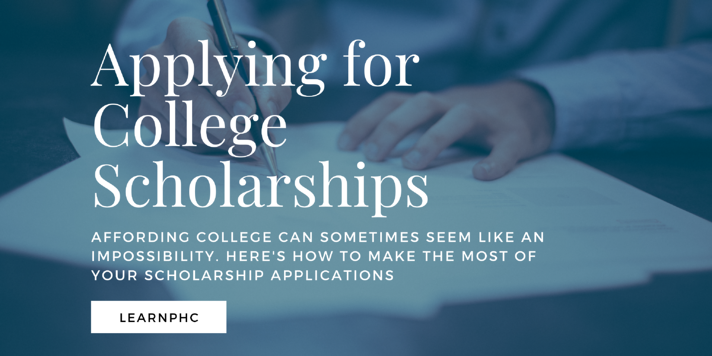 College Scholarship applications