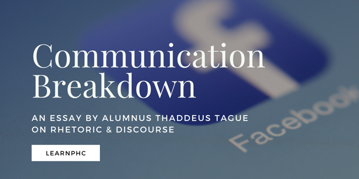 Communication Breakdown Thaddeus Tague