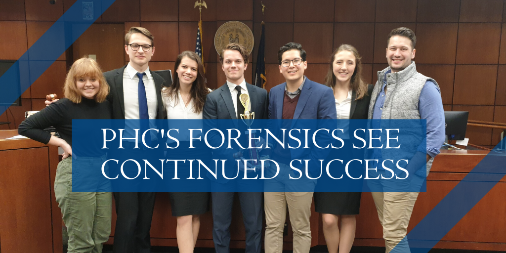 Forensics PHC Continued Success
