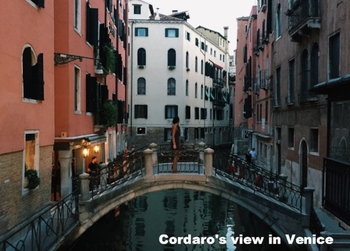 Patrick Henry College student in Venice
