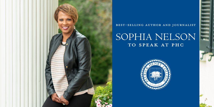 Sophia Nelson to Speak at PHC