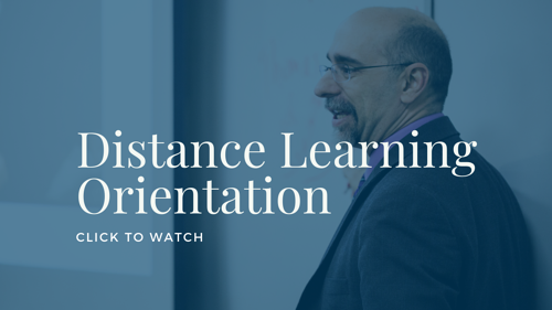 Distance Learning Orientation Video
