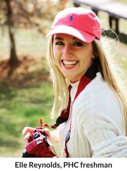 Elle Reynolds, PHC freshman