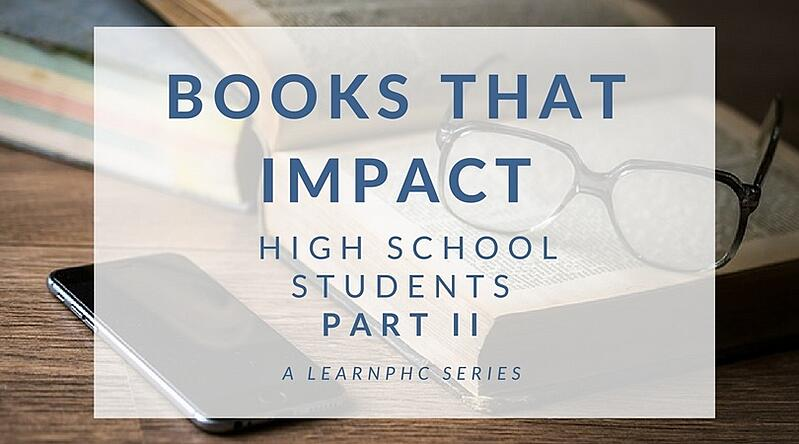 books that impact high school students part 2 - patrick henry college - phc