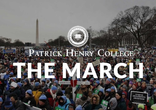 PHC Leads the March for Life