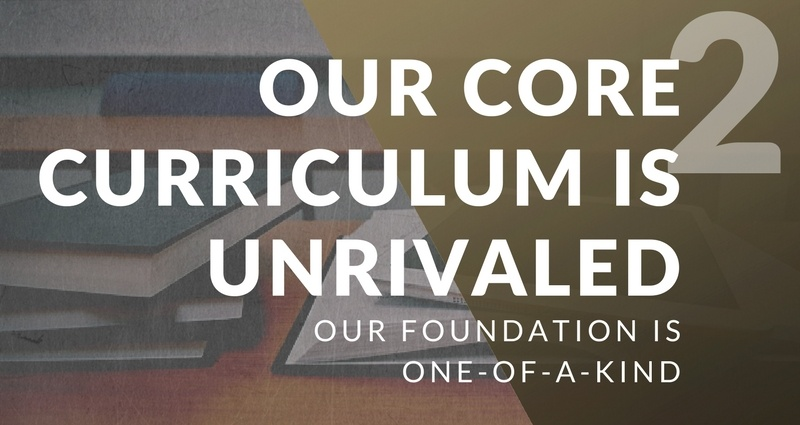 Distinctive 2: Core Curriculum