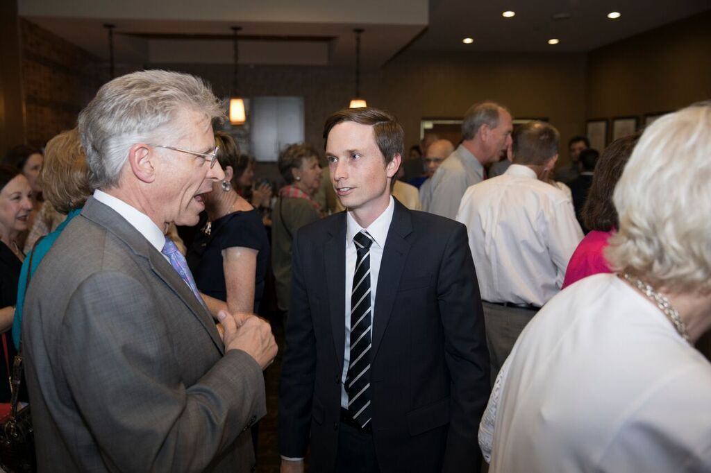 Event to introduce Gray as new editor, photo courtesy of Jorge Salgado/El Paso Inc.
