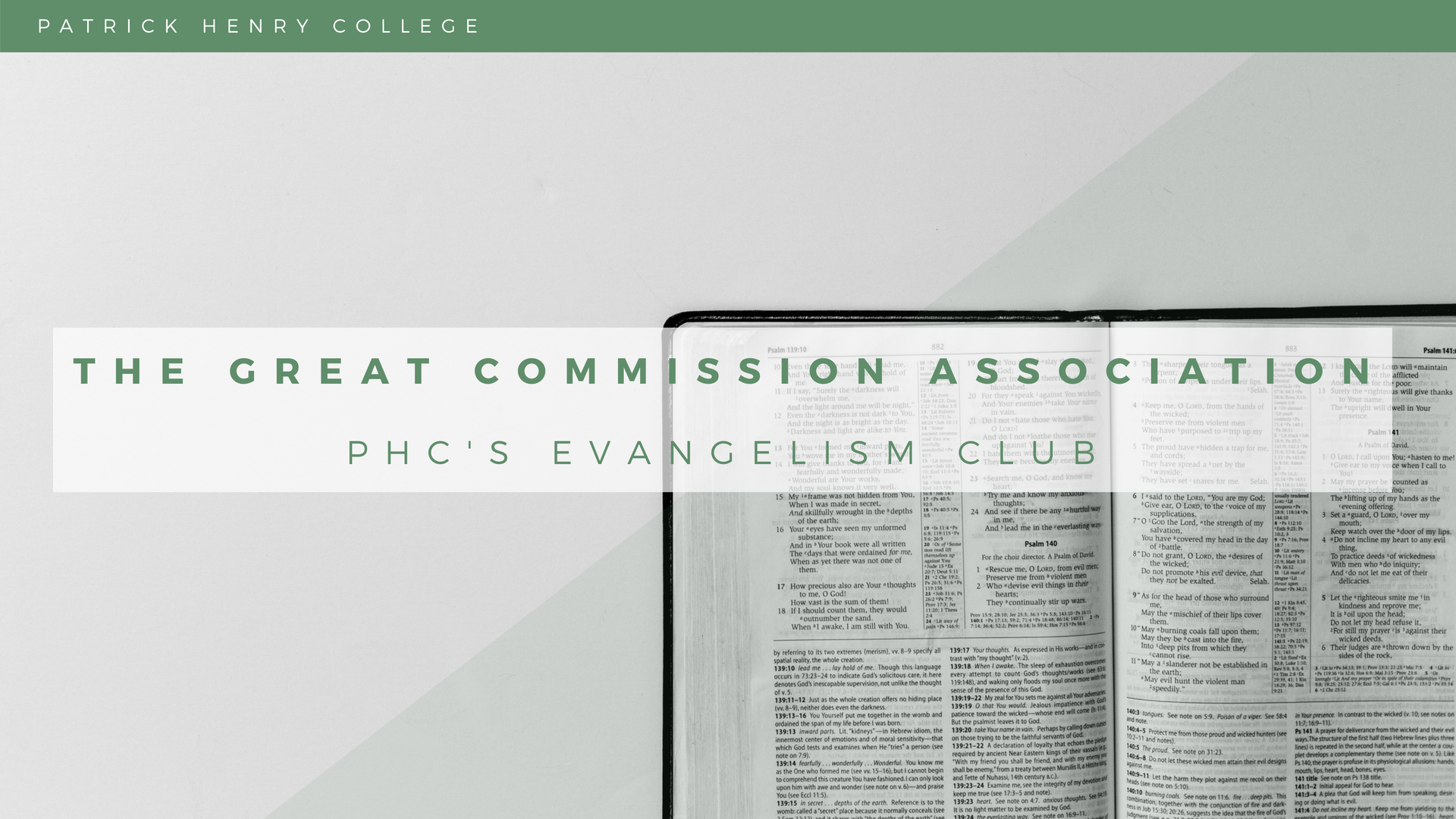 The Great Commission Association