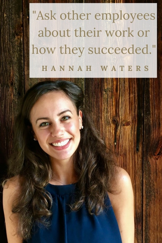 Hannah Waters how to succeed as an intern Patrick Henry College PHC