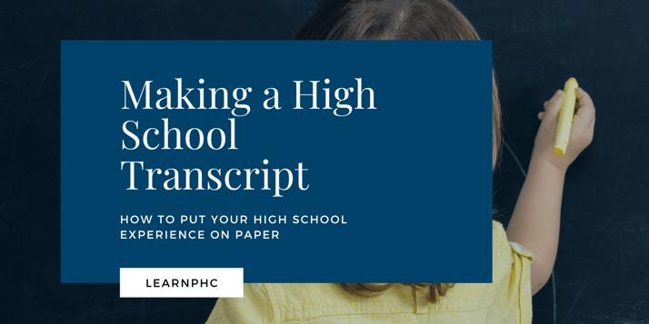 High school transcript (1)