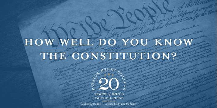 How Well do you know the constitution