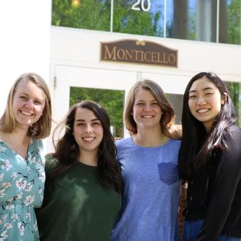 Monticello's RA Team