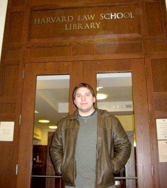 Mark Cianci at Harvard Law School Library